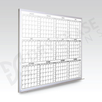 Custom 12 Month Whiteboard Calendar 48 x 72 At A Glance