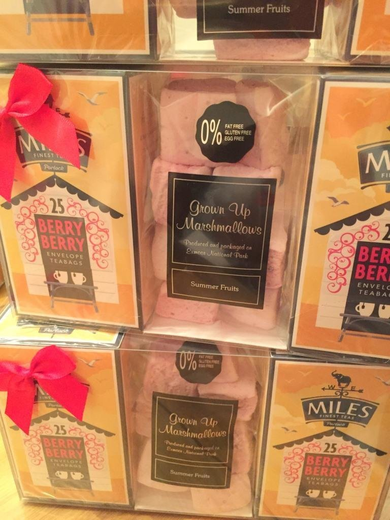 Miles Berry Berry Tea and Summer Fruit Marshmallow Gift Box