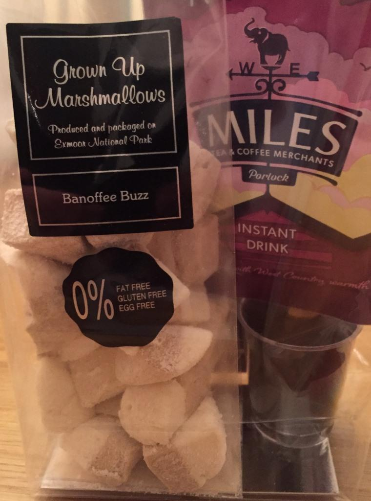 Miles Grown Up Hot Chocolate, 72% Coco Chocolate, Stirrer and Marshmallow Toppers G08