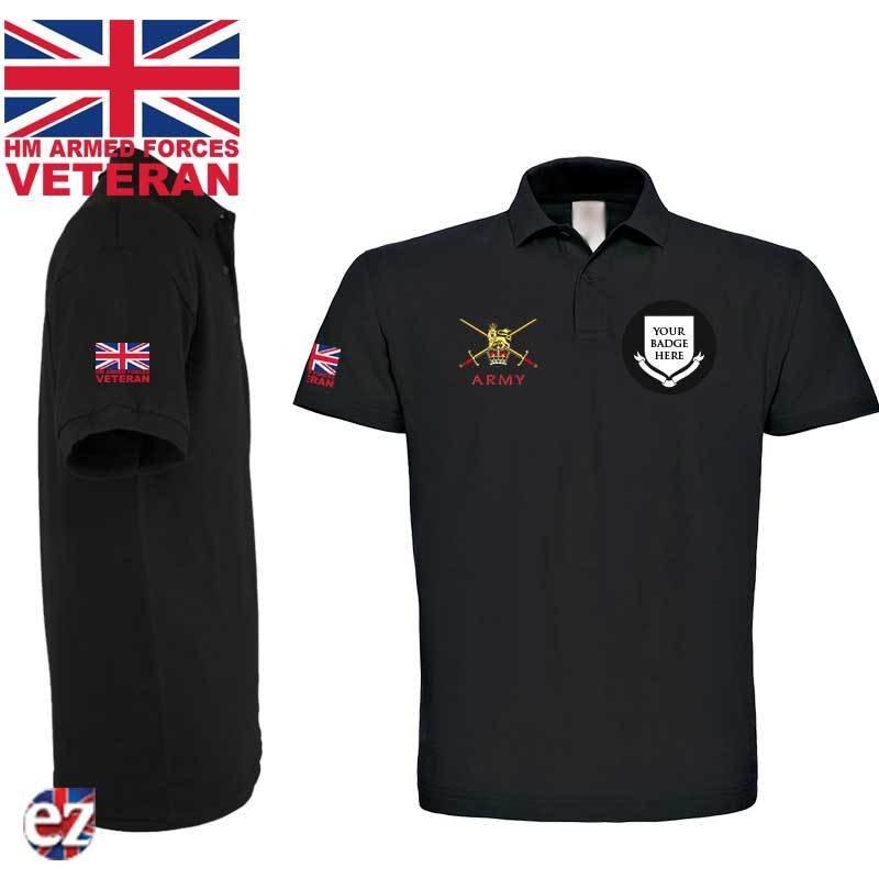 Polo Shirt Veteran Polo Shirt Military Polo Shirt
