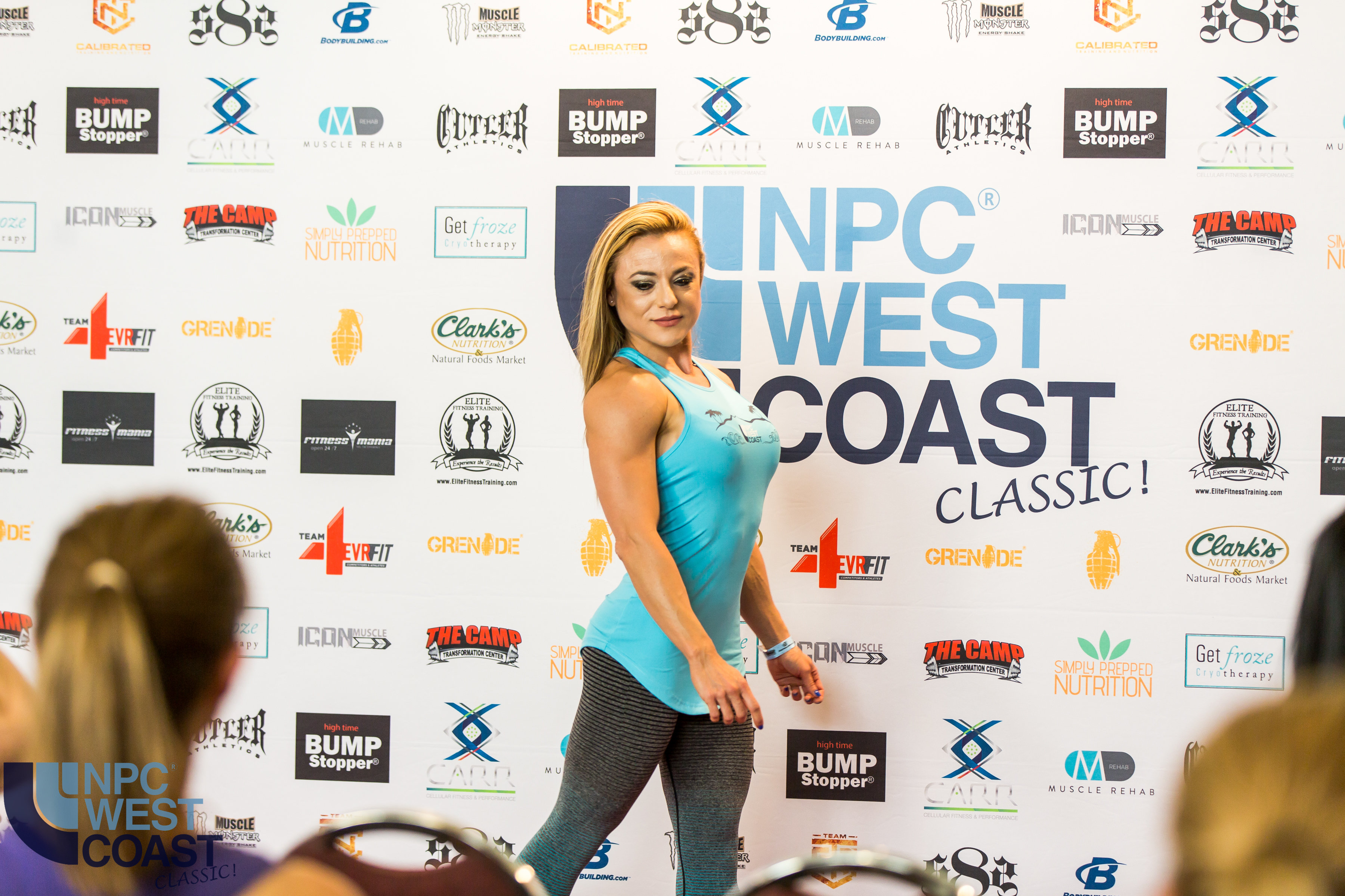 NPC West Coast Classic Women's Blue Tank