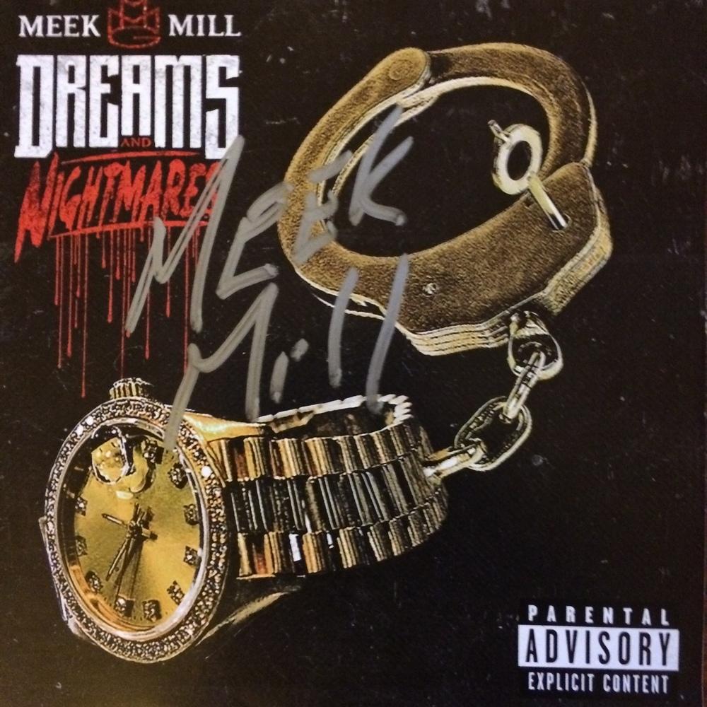 Meek Mill...Dreams & Nightmares Autographed CD