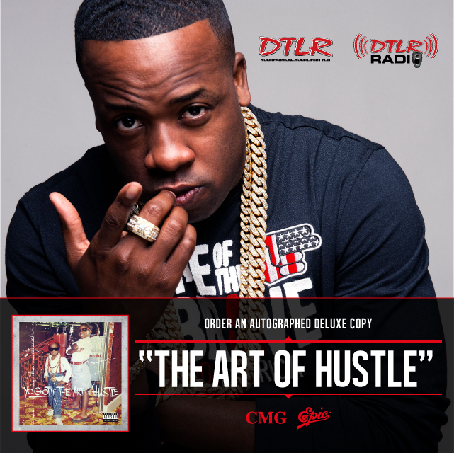 Yo Gotti...The Art Of Hustle - Autographed Deluxe CD