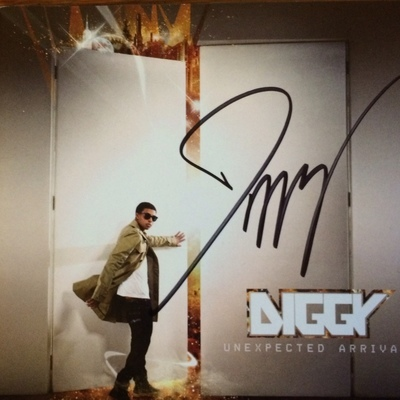 Diggy Simmons...Unexpected Arrival Autographed CD