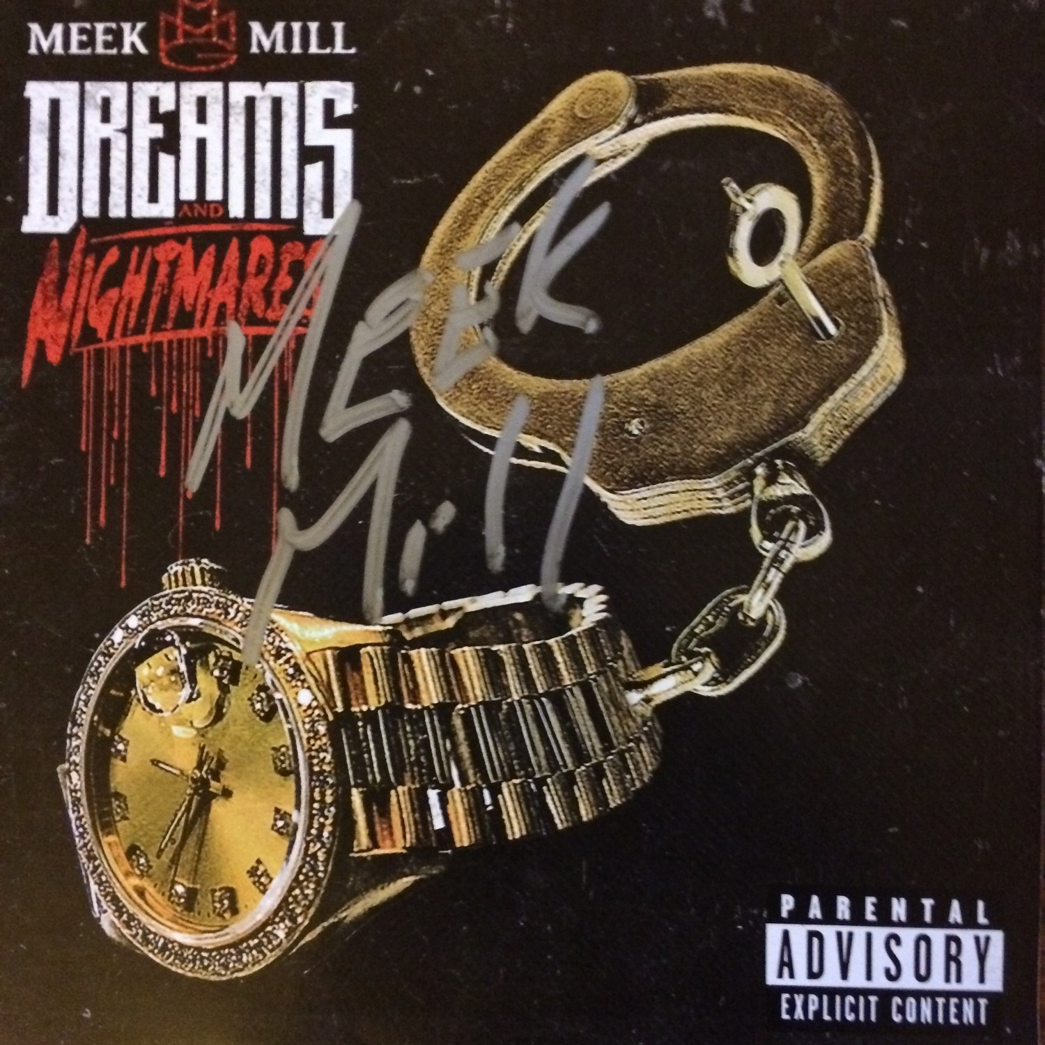 Meek Mill...Dreams & Nightmares Autographed CD