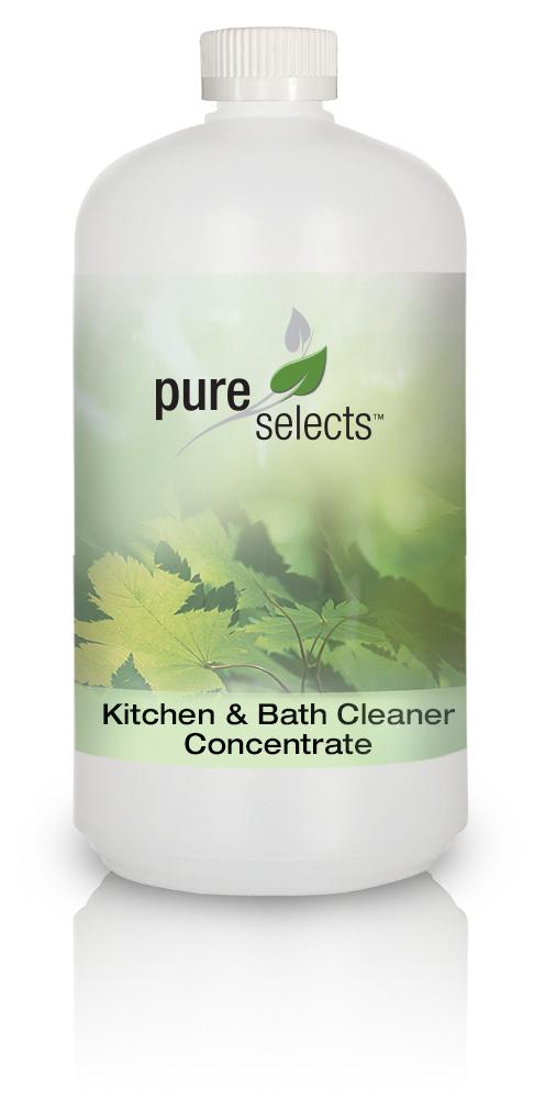 HYPOALLERGENIC KITCHEN & BATH CLEANER - Quart Concentrate