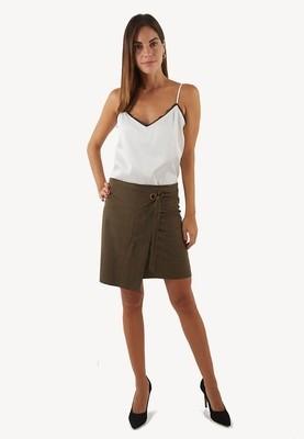 Minifalda asimétrica