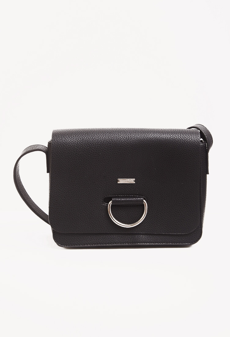Cartera crossbody color negro