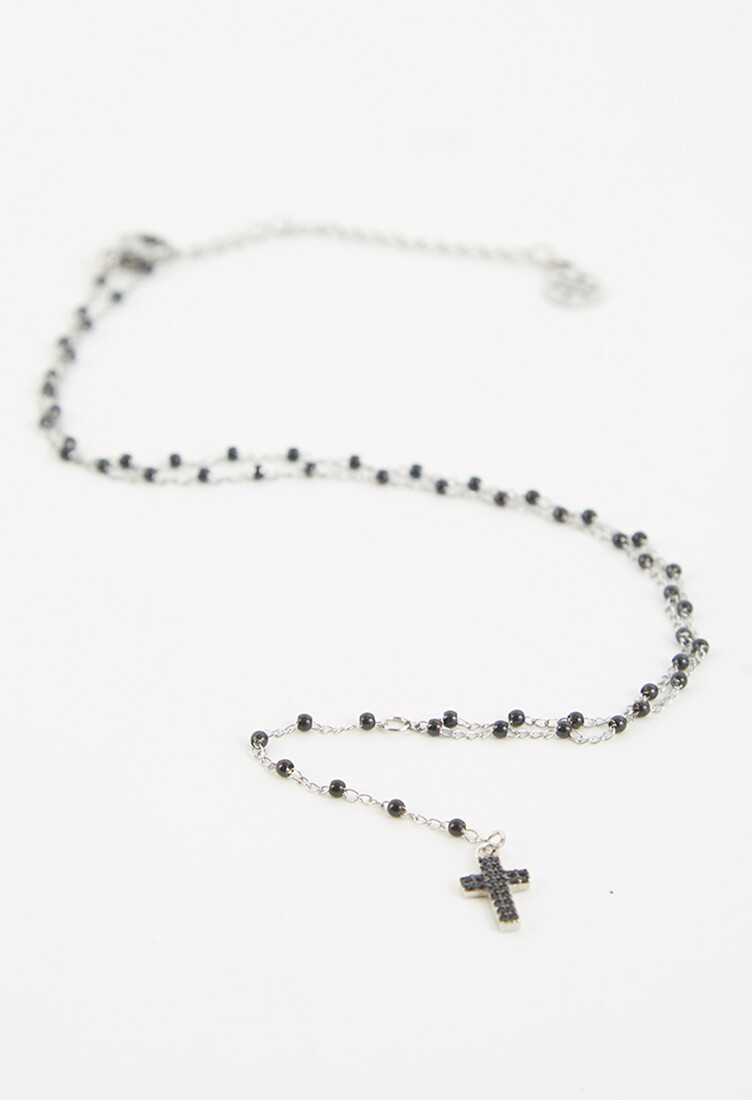 Collar Believe con cruz