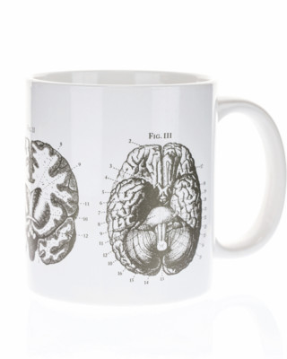 Anatomical Brain 20oz Mega Mug
