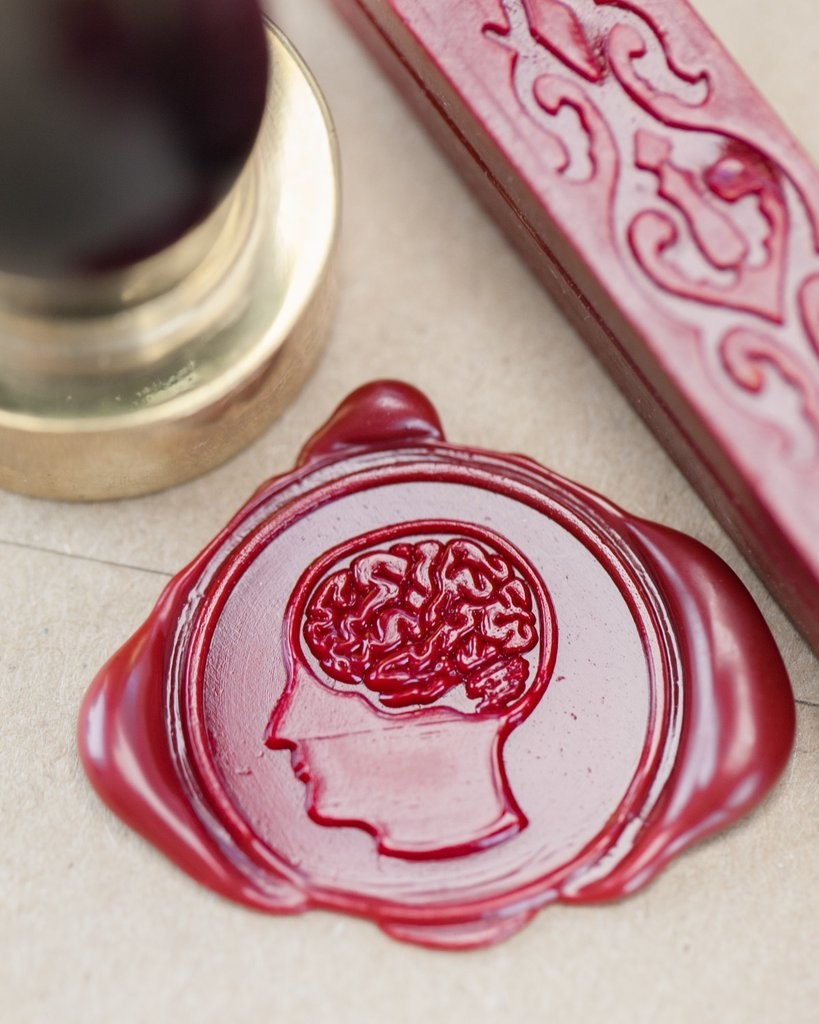 Brain Anatomy Wax Seal Kit