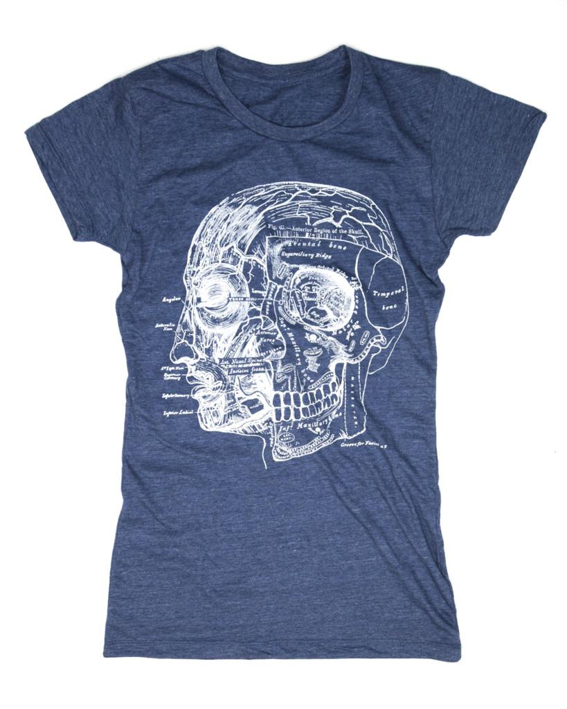 Skull & Head Anatomy Tee Shirt