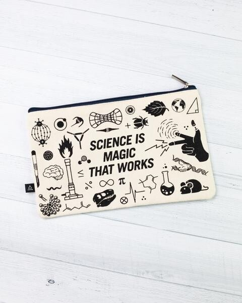 Science is Magic That Works! Zip Case