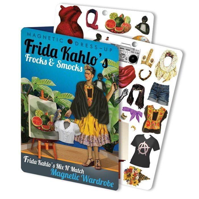 Frida Kahlo Dress Up Magnets