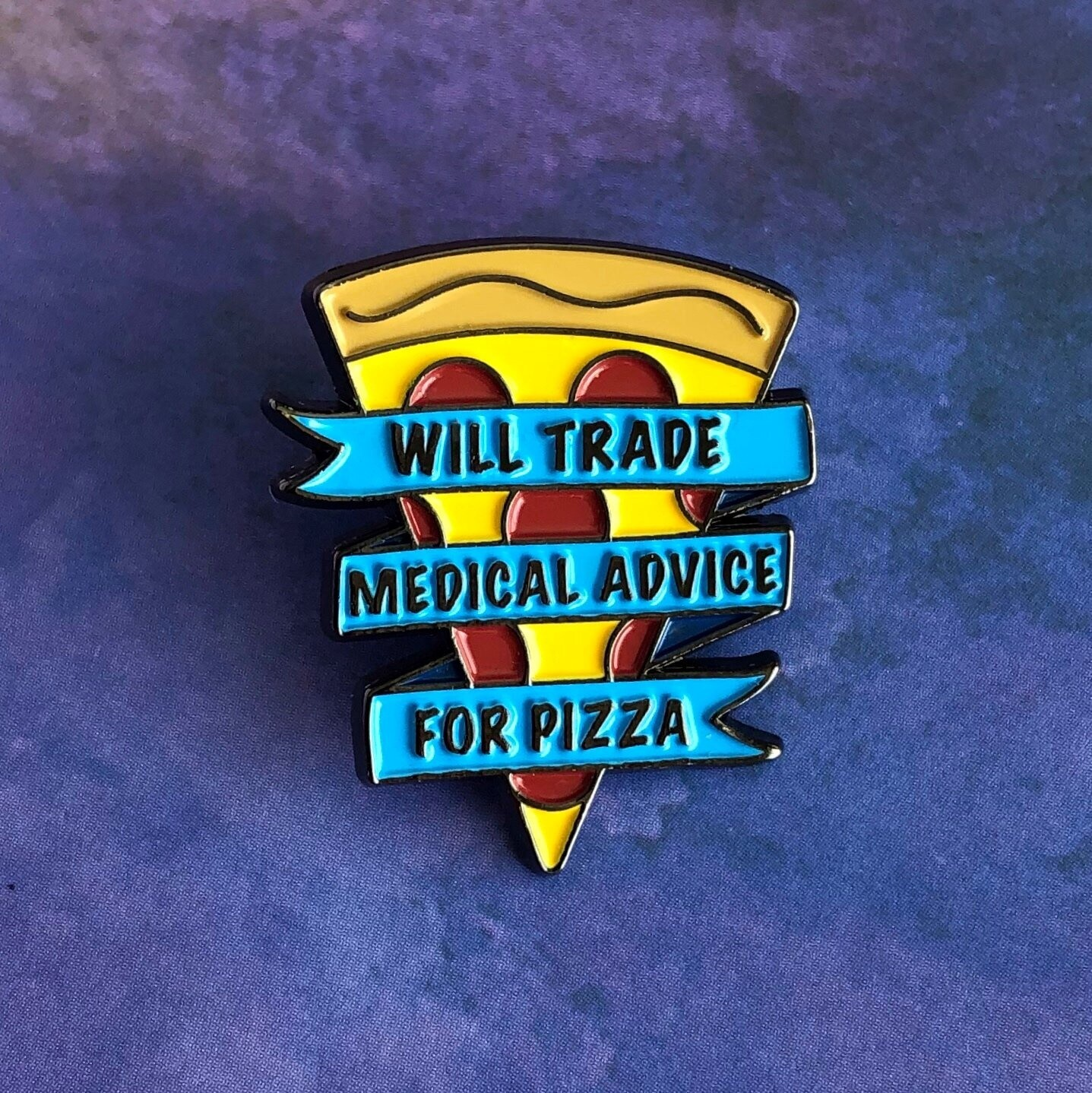 Medical Advice for Pizza Pin