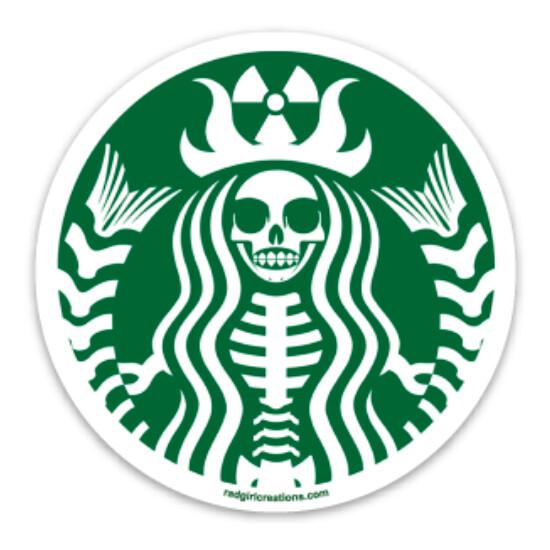 Radioactive Coffee Decal
