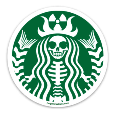Radioactive Coffee Decal