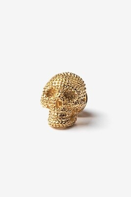 Skull Lapel Pin (gold)