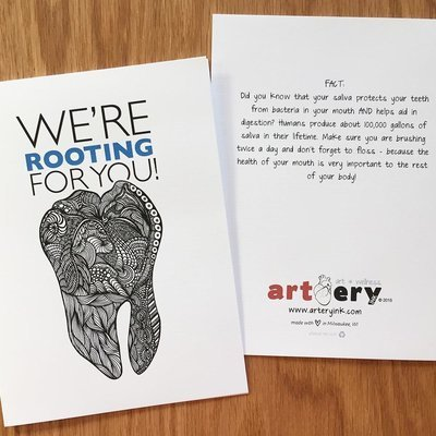 Tooth - Encouragement Card