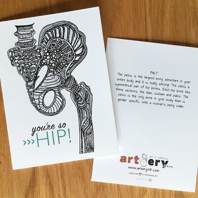 Hip - Any Occasion Card