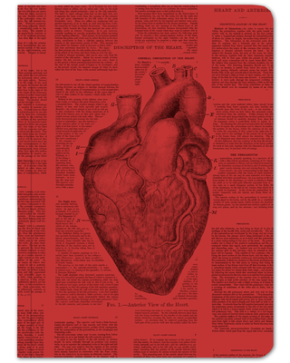 Anatomical Heart Softcover Notebook - Lined