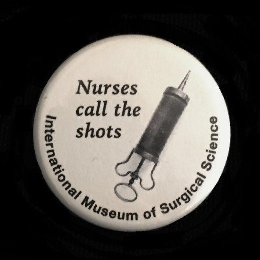 Button - Nurses Call the Shots!