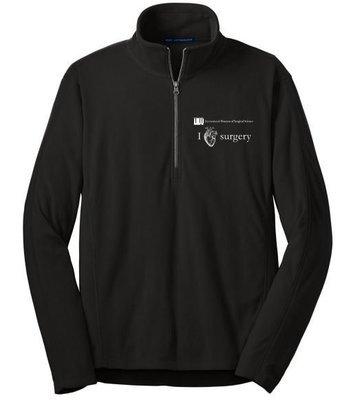 IMSS I Heart Surgery Fleece Jacket - 1/4 zip