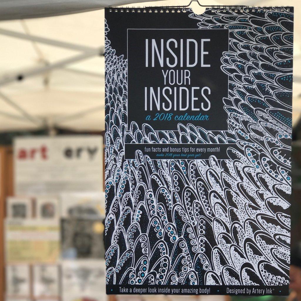 Inside Your Insides - 2018 Calendar