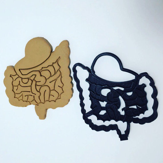 Anatomical Intestines Cookie Cutter