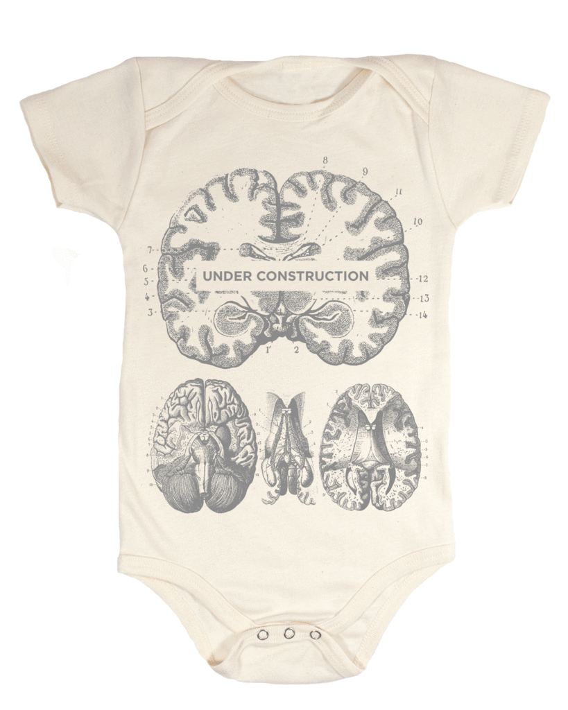 Under Construction! Organic Baby Bodysuit