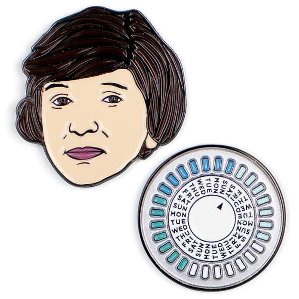 Margaret Sanger & The Pill Pins