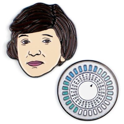 Margaret Sanger & The Pill Pins