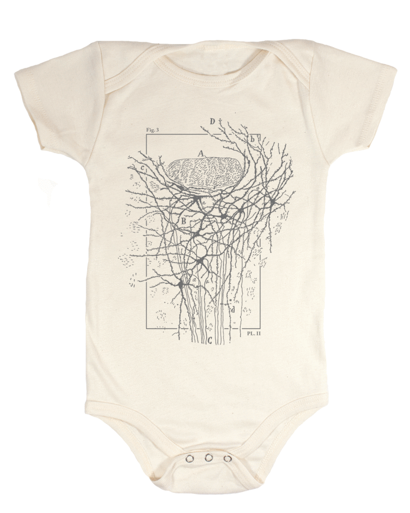 Neurons Organic Baby Onesie