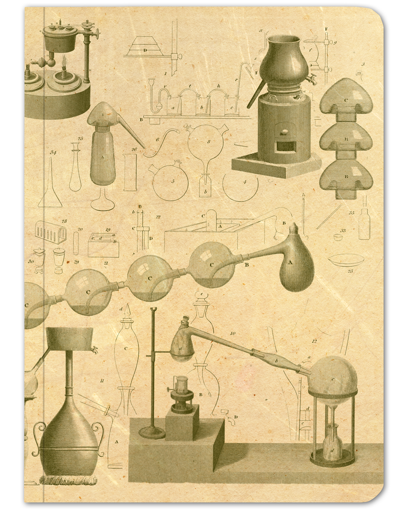 Chemistry Laboratory Softcover Notebook - Dot Grid