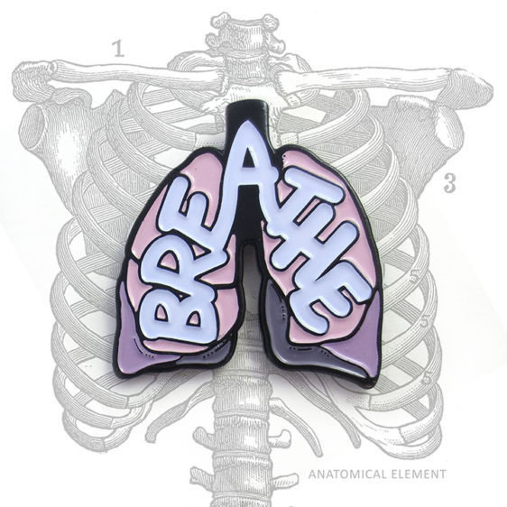 Anatomical Element BREATHE Lung Pin