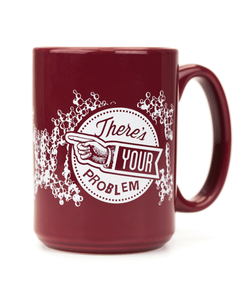 DNA: There's Your Problem Mug