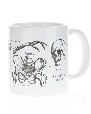 Skeleton Mega Mug