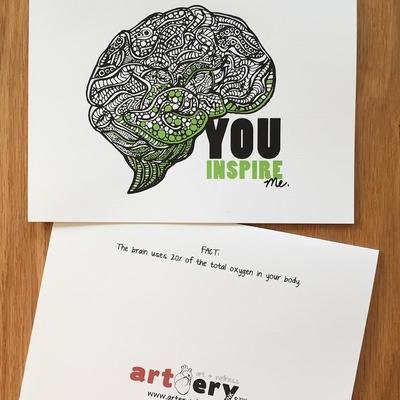 Inspired Brain - Any Occasion Card