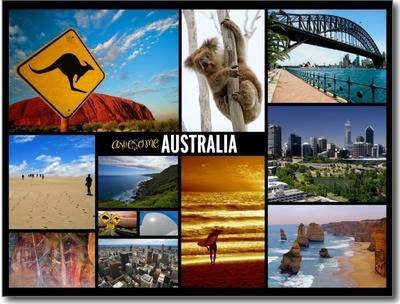 Koupená papírová pohlednice putující přes půl světa