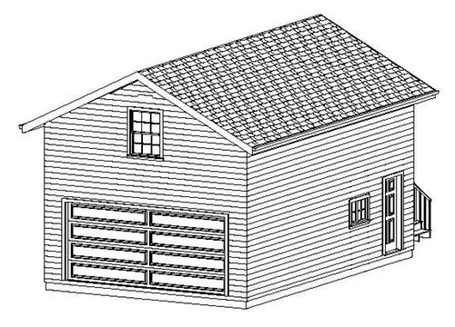 Affordable custom garage design garage plans store for Affordable garage
