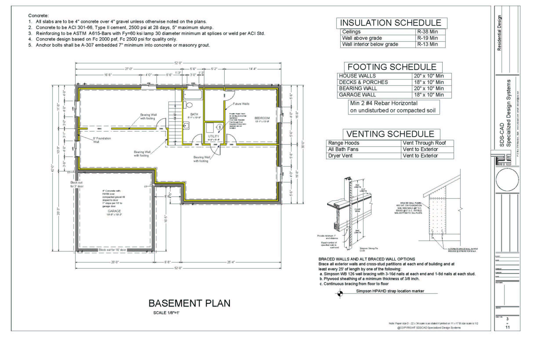 Complete House Plans | 5 Complete House Plans Construction Blueprints Autocad Dwg And Pdf