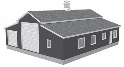 G450 60 X 50 10 Apartment Barn Style RV Garage Plans