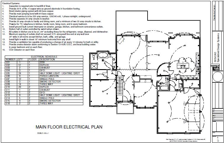 H111 Custom Executive House Plan 3 Bdrm 3 Bath 2100 Sq Ft Main 1088 Sq Ft Second Floor With Dwg And Pdf House Plansh111 Custom Executive House Plan 3 Bdrm 3