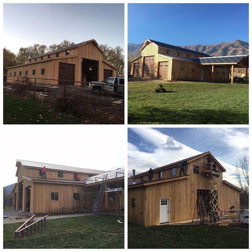 G612 48 X 60 Monitor Barn Style Garage With Porch In Pdf