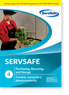 ServSafe®® Purchasing, Receiving, and Storage DVD 00025