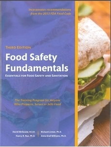 Food Safety Fundamentals English Essentials of Food Safety and Sanitation 00101