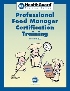 NSF HealthGuard: Professional Food Manager Certification Training 00113