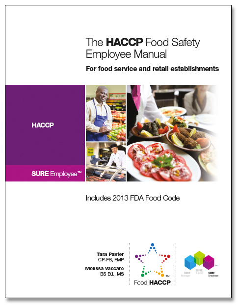 SURE™ HACCP Food Safety Employee Manual 00116