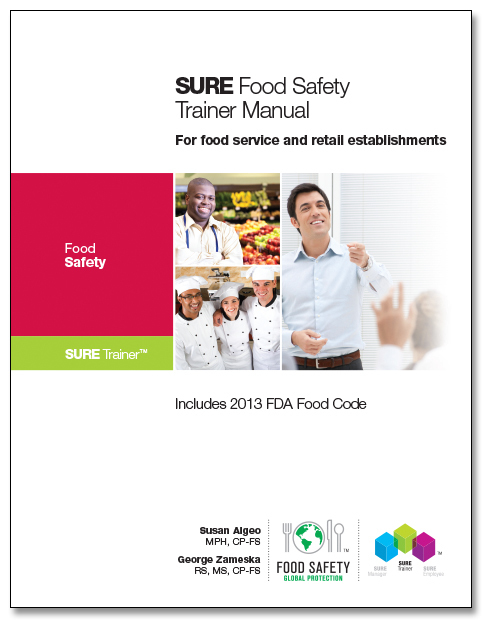 SURE™ Food Safety Trainer Manual 00119