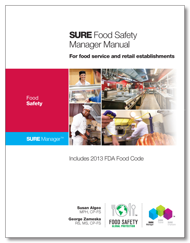 SURE™  Food Safety Manager Manual 00121